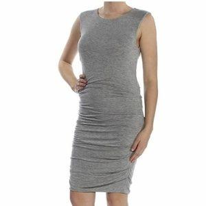 RACHEL Rachel Roy Dresses - Rachel Roy Womens Small K6-07  Gray Ruched dress